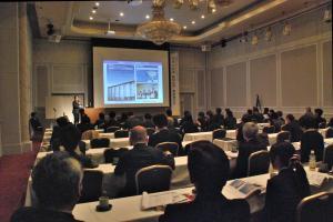 静岡大学事業報告会の様子